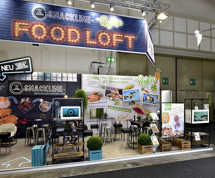 Vegetarisch Foodloft Vegan Messe Hamburg Internorga Gesund ECF projekt